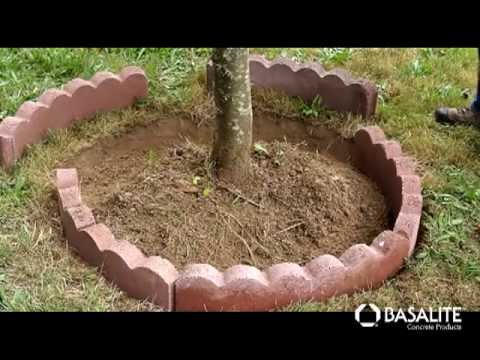 Basalite Concrete Products |  How to Build a Tree Ring