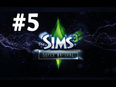 Let's Play: The Sims 3 Supernatural - [Part 5] - Cursed Bite
