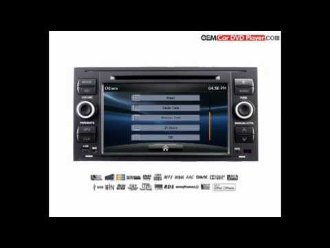 Car DVD Player for Ford Fiesta - Model:6005 Interface from oemcardvdplayer.com