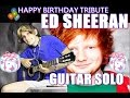 Ed Sheeran Thinking Out Loud Fingerstyle Guitar Tab Free Aco