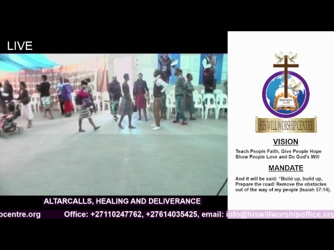 UPROOT THE WEED IN YOUR LIFE - TUESDAY HEALING AND DELIVERANCE SERVICE 08/05/2018