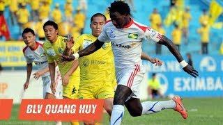 Hà Nội T&T - SLNA | Trận thua đậm nhất trong lịch sử đội bóng Thủ đô | V.League 2012