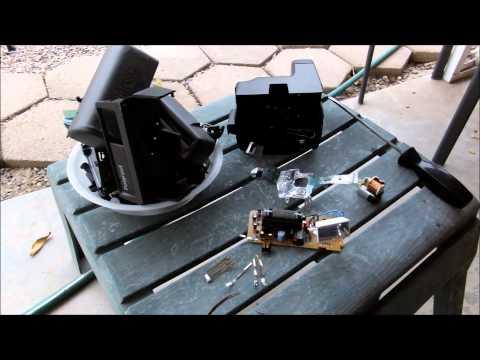 Polaroid OneStep600 and Spectra Tear Down