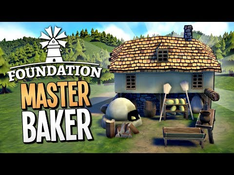 MAKING AND SELLING BREAD FOR A MASSIVE PROFIT - Foundation Gameplay
