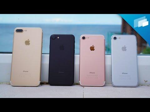 iPhone 7 Color Comparison - what's your favorite color?