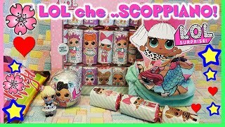 LOL BLING e...CARAMELLE che ESPLODONO!!! Unboxing News Lol surprise by Lara e Babou