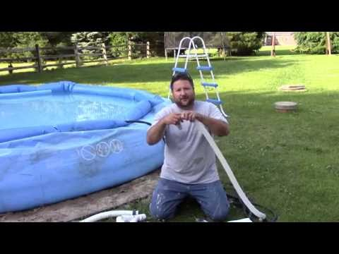 How to Supercharge Your Intex Pool- Solve weak pump/low water flow