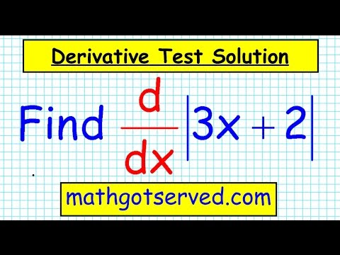unit 3 test corrections 7 Derivative of absolute value functions