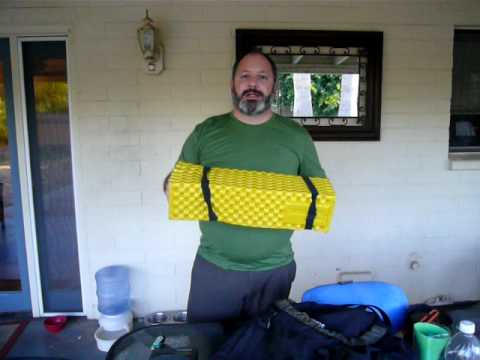 Backpacking Big 3 for new Boy Scouts - Inexpensive Gear