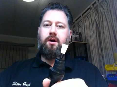 How to use your new Husk bagpipe chanter reed