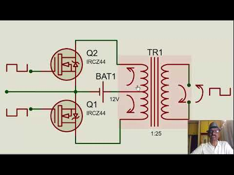 Inverter circuit design Part1- Covering basic function