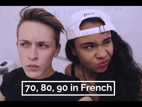 How to Say 70, 80, 90 in French