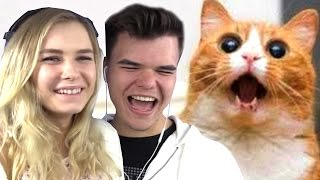 TRY NOT TO LAUGH CHALLENGE w/ GIRLFRIEND