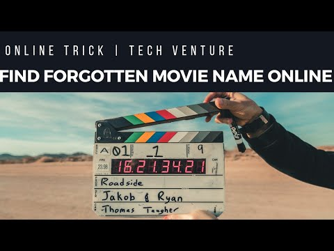 Find Your Forgotten Movie Name Just Typing The Movie info