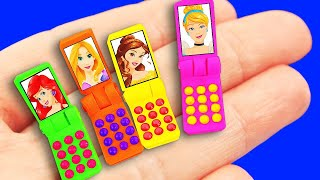 14 DIY Barbie Hacks: Mobile phone, Washing Machine, Accessories, Walk-in Closet