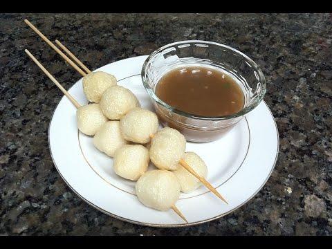 How to make Fishballs Sauce