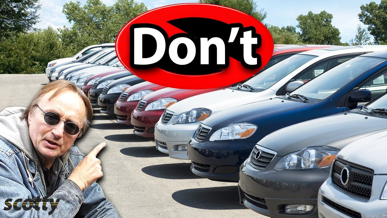 Never Buy a Used Car from the Dealership