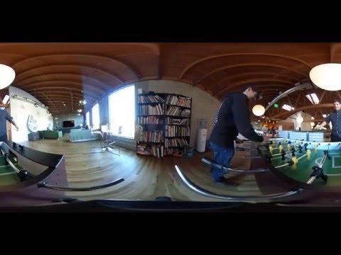 Go inside JibJab Studios in 360 degrees
