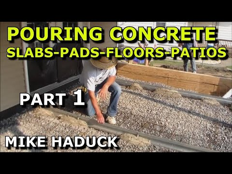 pouring concrete floors (Mike Haduck)