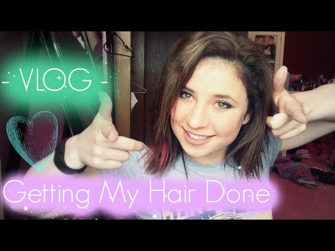 VLOG | Getting my hair Done | orange hair to light ash brown hair