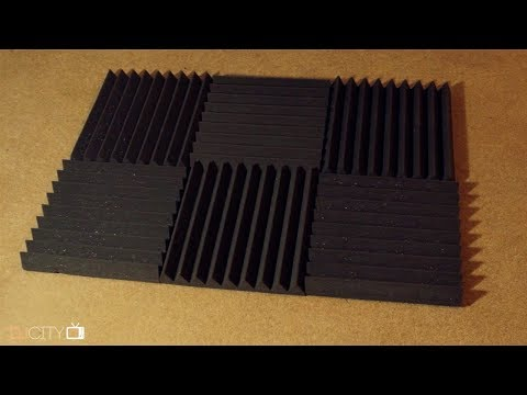 How to Mount Acoustic Foam Without Damaging Your Walls