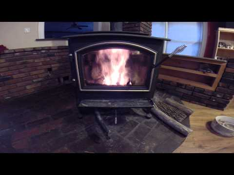 Best way to clean wood stove glass and start a fire in a Quadra-fire WoodStove