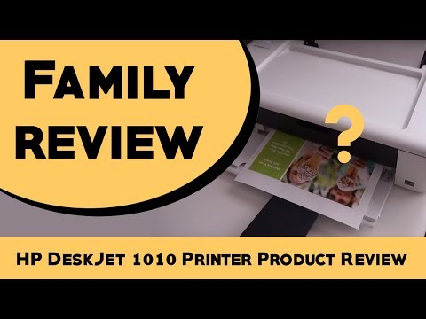 HP DeskJet 1010 Printer Product Review
