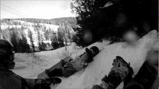 Snowboarding Silver Star Mountain