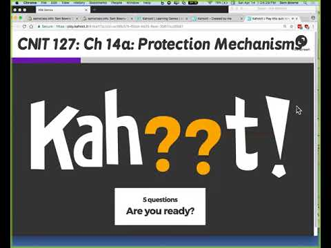 CNIT 127: Ch 14: Protection Mechanisms