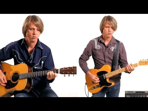Electric Guitar vs. Acoustic in Country | Country Guitar