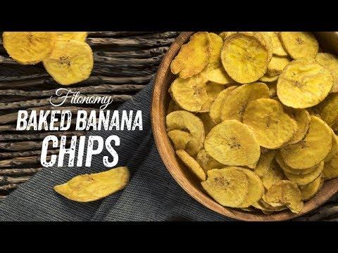Baked Banana Chips