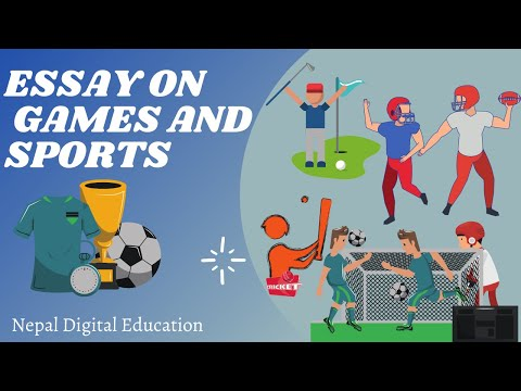 Essay On Games And Sports In English/ Speech On Games And Sports