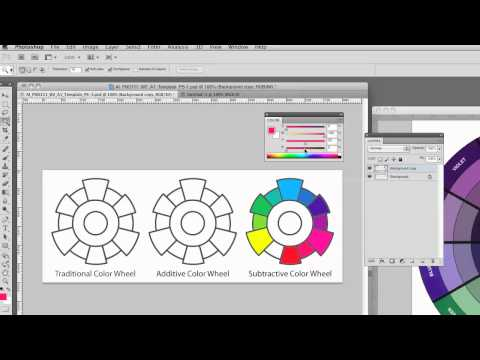 Creating color wheels in Photoshop part 1 of 2