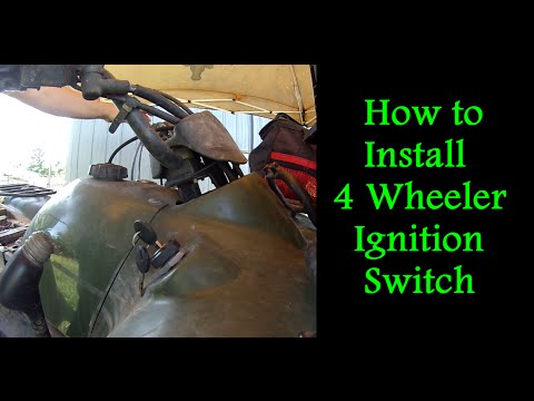 How to Replace the Ignition Switch on a 4 Wheeler