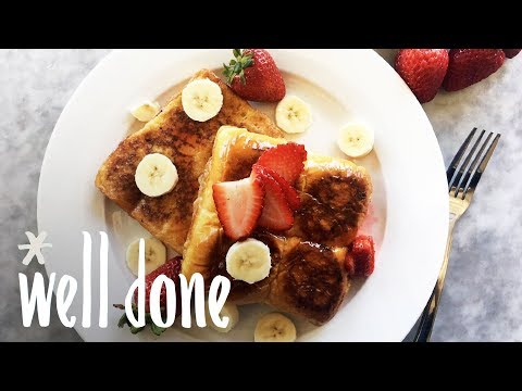 Serve Up This Copycat IHOP Strawberry Banana King's Hawaiian French Toast | Recipes | Well Done