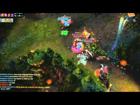League of Legends   Fiora Insta-Pentakill