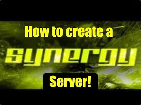 How to create a Synergy server [Port Fowarding]