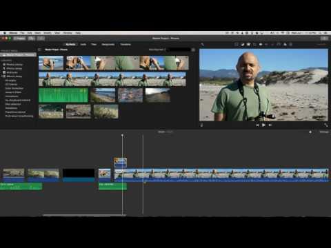 J-Cuts in iMovie