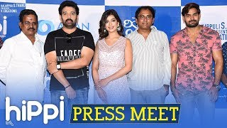 Hippi Movie Press Meet | Karthikeya | JD Chakravarthy | Digangana | TN Krishna | Kalaippuli S Thanu