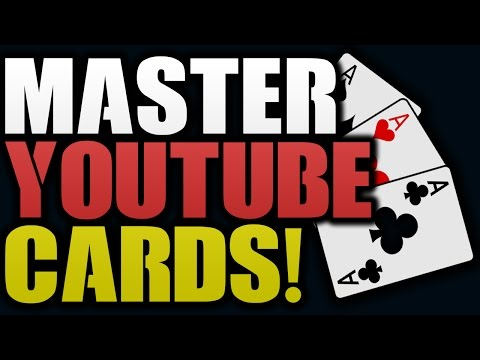 Get More Views With YouTube Cards and End Screens!