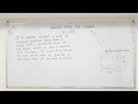 Class 10 Surface areas and volumes (part 16)