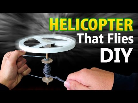 How to Make a Helicopter That Flies Far