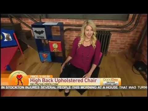Delta Children's Character Themed Furniture is Featured on Good Day Sacramento