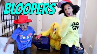 CRAZY Bloopers Of The Week! HAUNTED Skeleton and Poop Emoji - Bad Baby Shiloh and Shasha - Onyx Kids