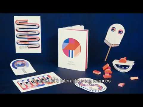 #PapierMachine, the first book of interactive electronic paper toys