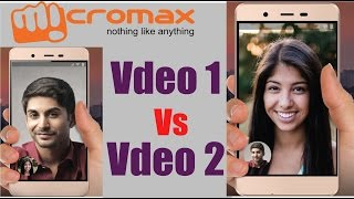 Micromax Vdeo 1, Vdeo 2 With VoLTE Support, Video Calling Feature