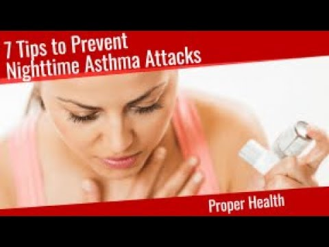 7 Tips to Prevent Nighttime Asthma Attacks
