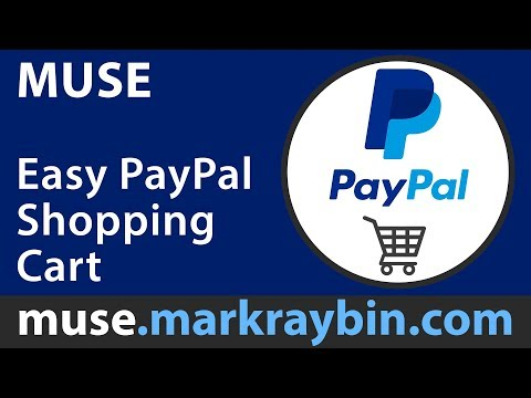 Easy Paypal Shopping Cart ( Adobe Muse )