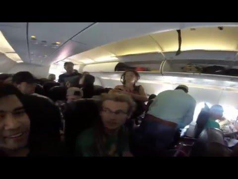 Flight to Kuala Lumpur, Malaysia with Kerby Austria