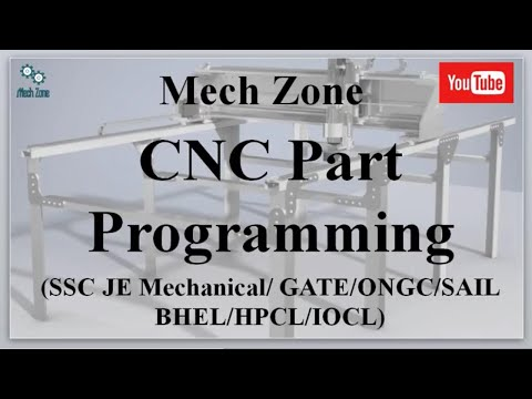 CNC Part Programming and important G and M codes